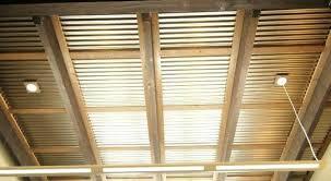 corrugated metal ceiling ideas corrugated metal ceiling garage corrugated metal ceiling garage home design ideas home designer suite home design