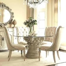 pier one glass table tops inch round glass table top drew the boutique round glass dining