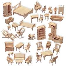 Inexpensive dollhouse furniture 18 Inch Dollhouse Furniture Kits Aliexpresscom Dollhouse Furniture Kits Miniature Modern Furniture Modern Dollhouse