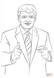 Donald Trump coloring page | Free Printable Coloring Pages
