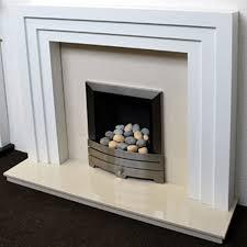 Prestige Cambridge Hand Crafted MDF/White Fire Surround