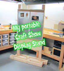Craft Show Display Stands My portable display stand for a craft show YouTube 1