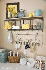 laundry room organization and storage