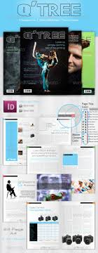 Magazine Newsletter Design Newsletter Template Magazine Templates From Graphicriver