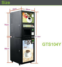 Vending Machines Sizes Fascinating Coffee Vending Machines For Coffee Drinker