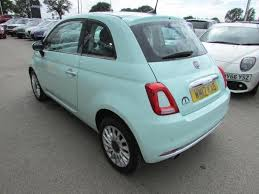 2017 fiat 500 1 2 lounge s s 3dr petrol green manual in knutsford cheshire gumtree