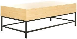 safavieh coffee table safavieh alec coffee table