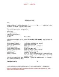 Thanks For Offer Letter Best Solutions Of Offer Letter Sample For Job Format In Thanks