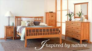Solid Wood American Made Bedroom Furniture Photo   7