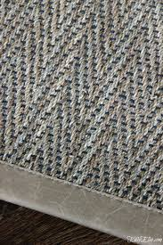 love this seagrass rug with black accents and leather trim kellyelko com