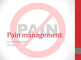 importance of non-pharmacological pain management