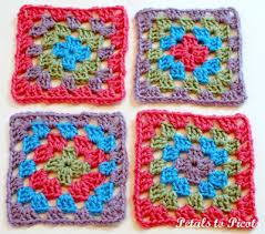Classic Granny Square Pattern Mesmerizing How To Crochet A Classic Granny Square Granny Square Pattern