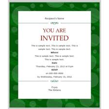 Business Invitations Templates Business Gala Dinner Invitation Template Example Invitations 1