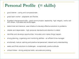 High Interpersonal Skills Interpersonal Skills List Resume Nppusa Org