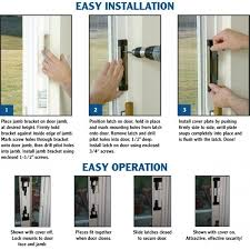 sliding glass door alarm cool sliding barn door hardware on