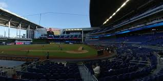 Marlins Seating Chart Marlins Park Section Fl7 Miami Marlins Rateyourseats Com