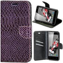 Flip Cover for Xolo Q3000 - Purple ...