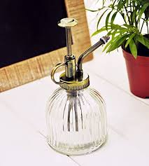 Decorative Spray Bottle EMeoly Vintage Clear Glass Water Spray Bottle Decorative Plant 77