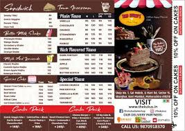 Menu Of The Kukus Bake Shop Kharghar Navi Mumbai Magicpin
