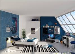 cozy blue black bedroom bedroom. Boy-bedrooms-cozy-licious-minimalist-bedroom -design-ideas-comes-with-beautiful-striped-rug-idea-likewise-gorgeous-blue -accent-design-sport-themed-bedroom- Cozy Blue Black Bedroom