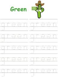 I love these tracing alphabet worksheets! Alphabet Tracer Pages Learn Your Colors
