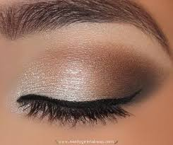 description natural wedding makeup for brown eyes