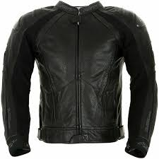 rst motorcycle 1043 black series ii mens leather jacket black 110430140 s 40