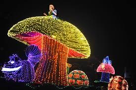 Electric Light Parade Disneyland Disney Extinct Attractions The Main Street Electrical