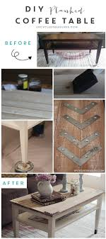 Style Coffee Table Diy Planked Farm Style Coffee Table Upcycled Treasures