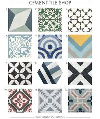 Patterned Concrete Tiles