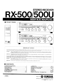 pdf for yamaha rx 500 receiver manual pdf for yamaha receiver rx 500 manual