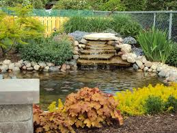 Small Picture Spacious Area For Awesome Backyard Pond Pictures With Stone Pool