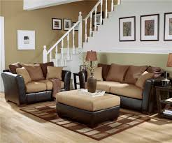 ashley furniture living room sets leather