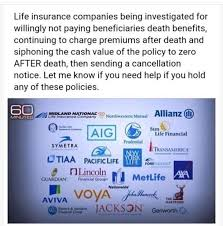 if you have life insurance and it is not primerica life insurance then you need to