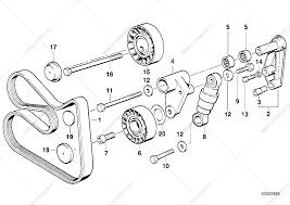 Belt drive water pumpalternator for bmw 5' e39 520i m52 touring 928 0 m52 engine diagram m52 engine diagram