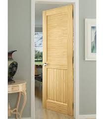 solid wood louvered pine slab interior door 28 bay louvered door