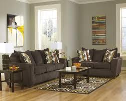 Walnut Living Room Furniture Buy Brogain Walnut Sofa By Benchcraft From Wwwmmfurniturecom