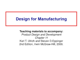 Product Design Development Ulrich Ppt Teaching Materials To Accompany Product Design And