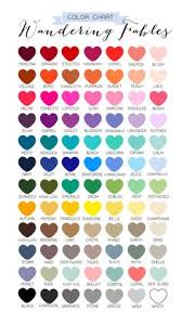 Wedding Anniversary Color Chart The Anniversary Symbols Meanings And Colors By Year