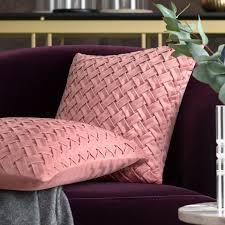 <b>Декоративная подушка</b> Гвинет розовая, чайная роза: купить в ...