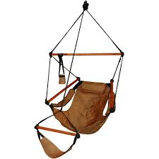 Deluxe Wood Hammock Chair - Free Shipping Today - Overstock.com - 12725129