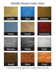 Epoxy Garage Floor Color Chart A Few Metallic Epoxy Colors Abilene Texas In 2019
