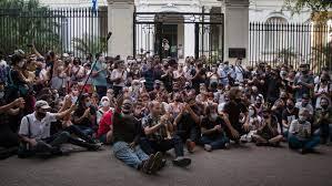 In Cuba, Internet Fuels Rare Protests ...