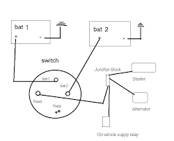 billavista's dual battery setup how does a dual battery system work at Wiring Diagram For Dual Batteries