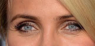 كاميرون دياز قد عثر على ظلال مثالي دقيق للعيون الزرقاء