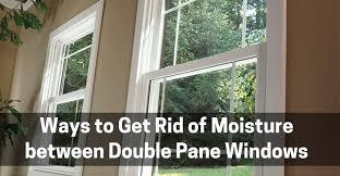moisture between double pane windows