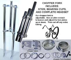 bicycle chopper forks