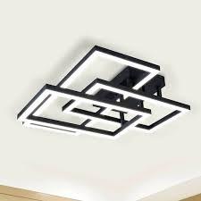 rectangular ceiling light fixtures lighting radium led fixture recessed