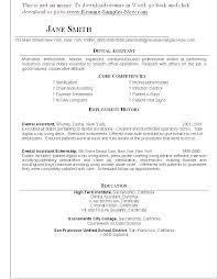 dental assistant resume objectives resume objective administrative assistant office assistant resume