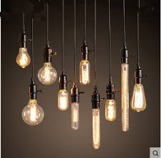 Retro lighting Contemporary Loft Edison Retro Light Bulb Chandelier Light Bar Clothing Store Industrial Lamp Coffee Restaurant Window Small Droplight Aliexpress Loft Edison Retro Light Bulb Chandelier Light Bar Clothing Store